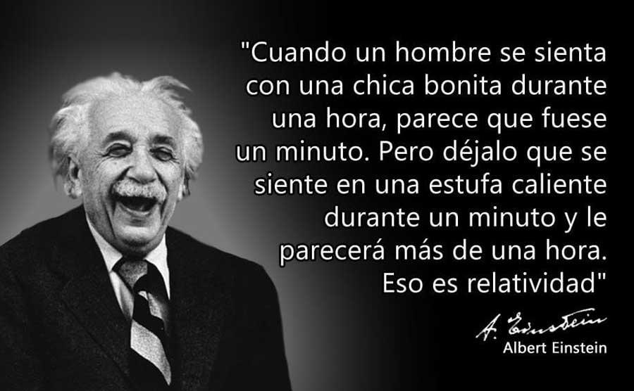 Albert Einstein. El tiempo relativo