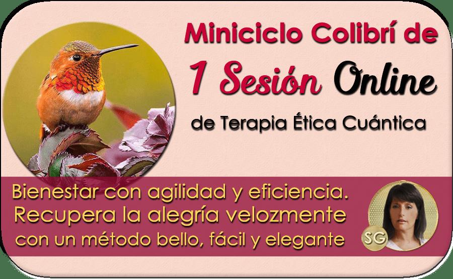 Miniciclo Colibrí de 1 Sesión Online de Terapia Ética