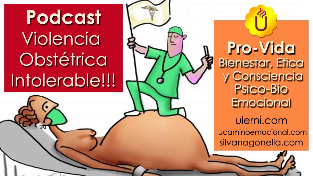 Podcast Violencia Obstétrica. No permitas que secuestren tu parto